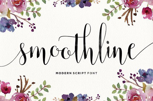 Smoothline Script by Areatype Studio on @creativemarket