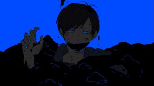 Osomatsu-san- Karamatsu #Anime「♡」Dark Neon