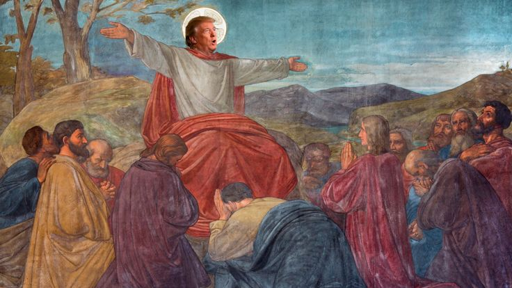 Donald Trump: White Jesus