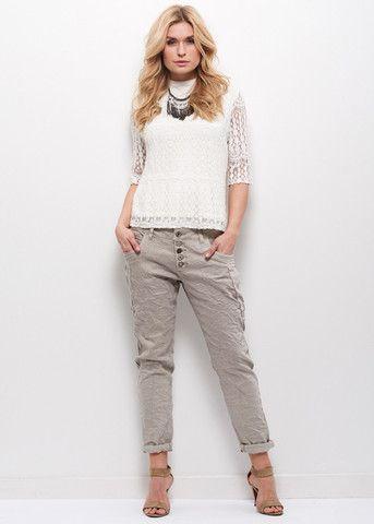Cream Bukser 10601138 Nille Jeans sand – acorns