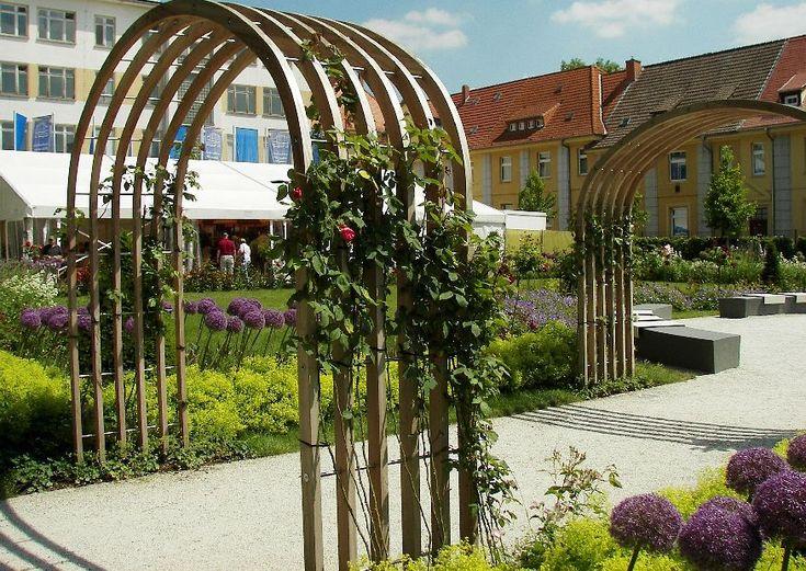 25+ Beste Ideeën Over Rosenbogen Holz Op Pinterest - Rosenbogen ... Holz Pergola Rutikal Garten