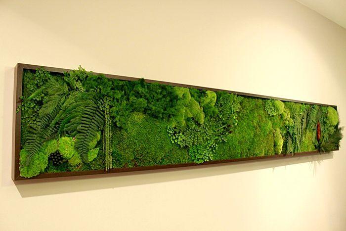 best 25 moss wall art ideas on pinterest. Black Bedroom Furniture Sets. Home Design Ideas