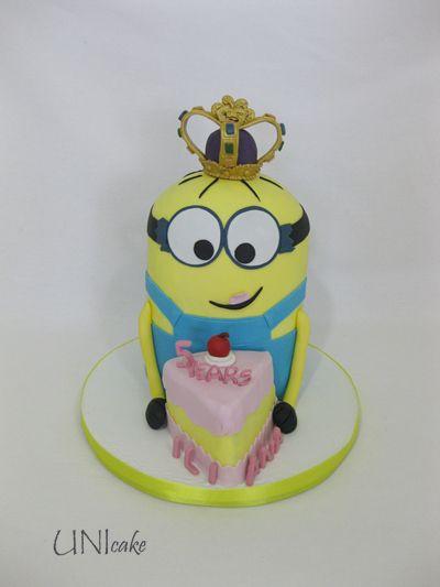 C231. Minion-kakku. Minion cake.