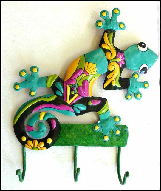 17 Best images about Metal Geckos & Frogs - Decorative ...
