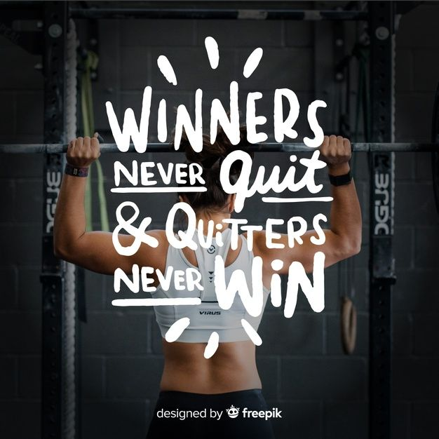 Download Motivational Sport Lettering Background With Picture For