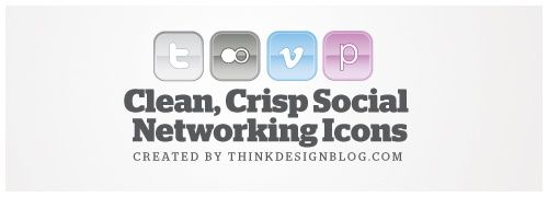They included 21 social networking icons, in 2 different styles, with 10 color variations total. So in short, it's a lot of icons! One of the styles is more glossy/gradient-y, and one of the styles is flat. This way you can use them for a bunch of different projects. The flat icons are super easy to change colors, so customization should be pretty easy. Also, the download includes both CS & CS3 files. I'm including a preview of a couple of the colors, and the 2 different styles. Enjoy!