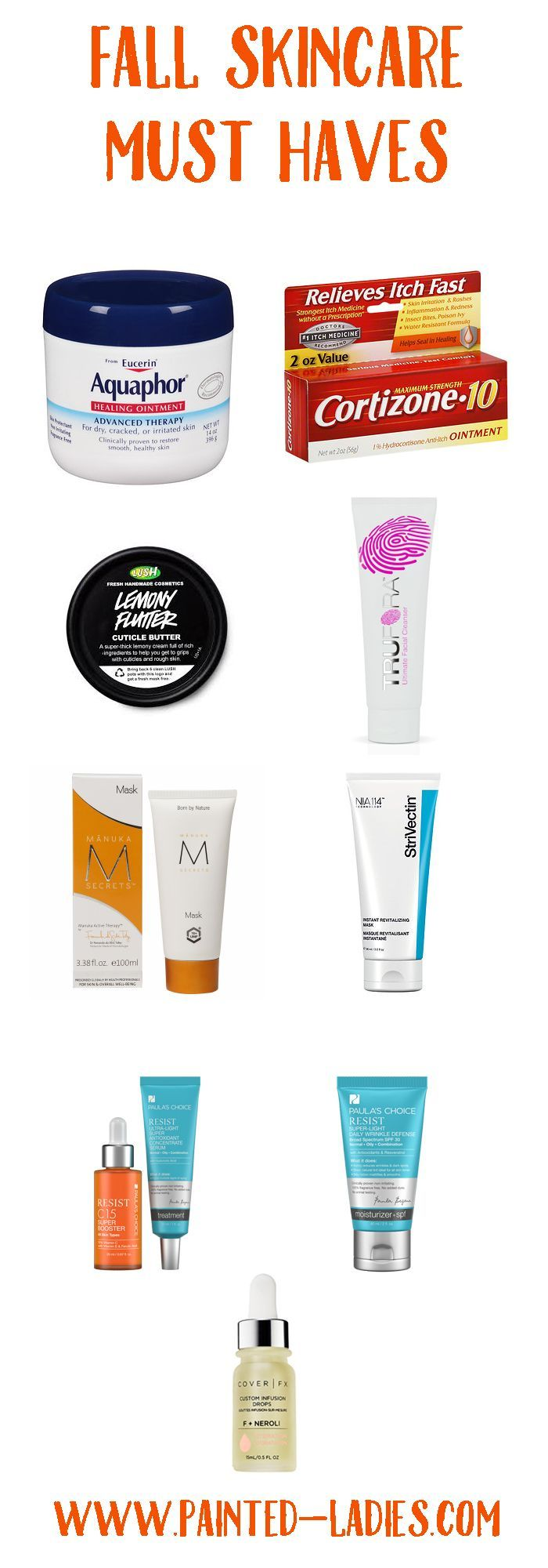 Top 10 Fall Skincare Must Haves - Painted Ladies