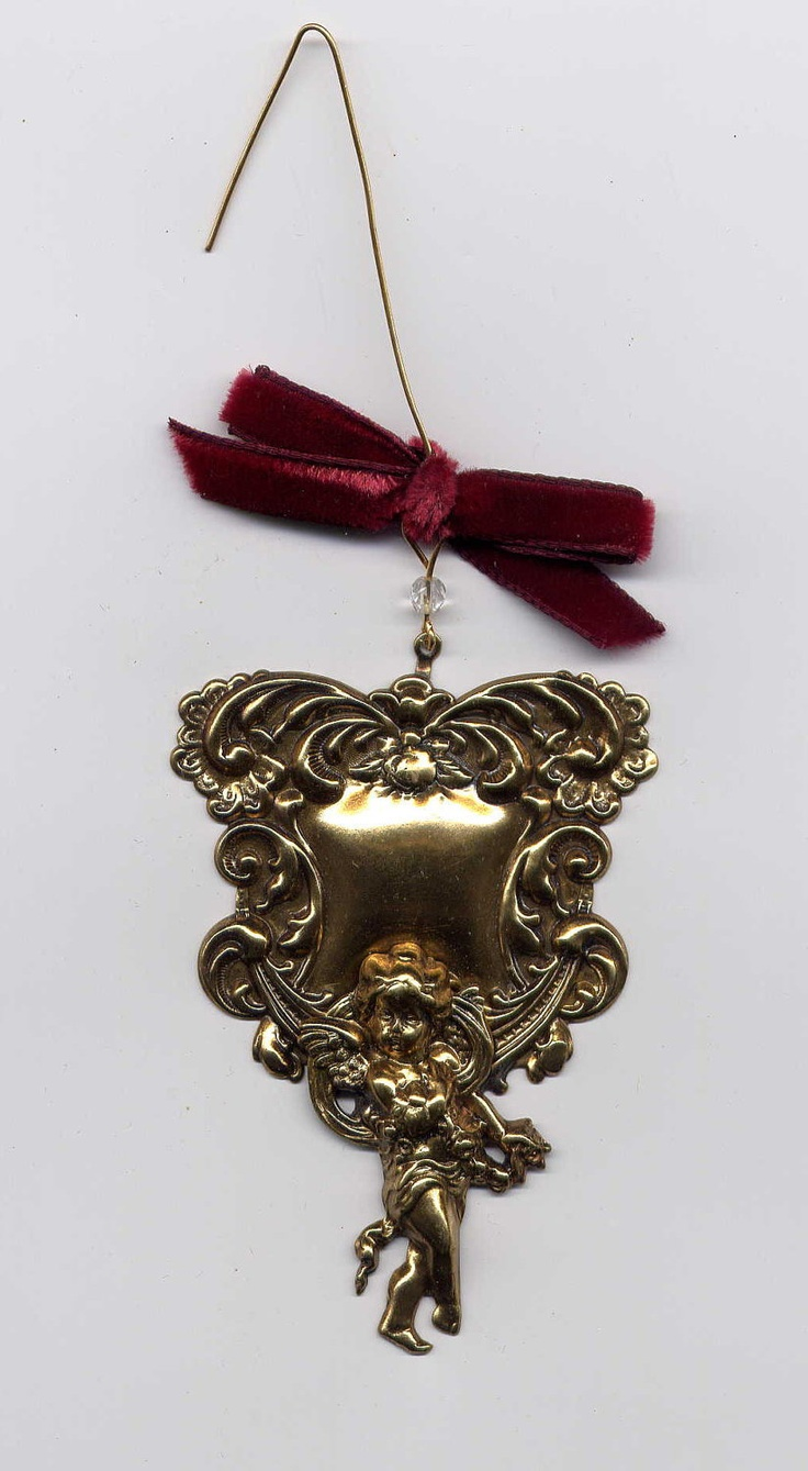 Brass Engravable Christmas Ornaments