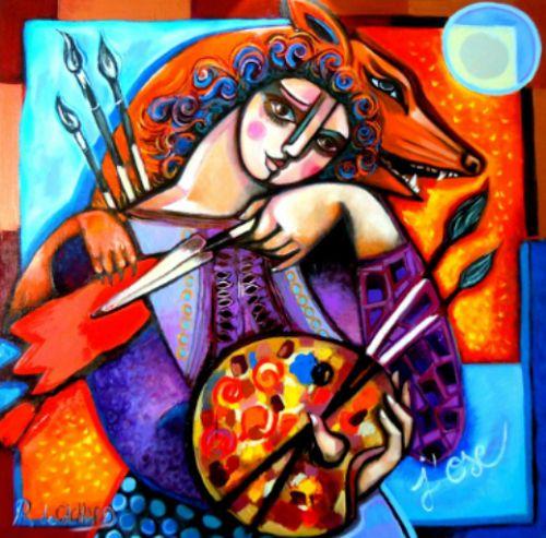 ARTE Cristina Faleroni: ARTISTA REBECCA DE CACHARD