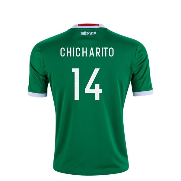 adidas Javier Chicharito Hernandez Mexico Youth Home Jersey 2016