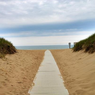 In May 2013, The Today Show named Holland, MI one of the best affordable beach vacation spots and featured Holland State Park, best known for its beautiful sunsets, clean water and nearby cottages and cabins.
