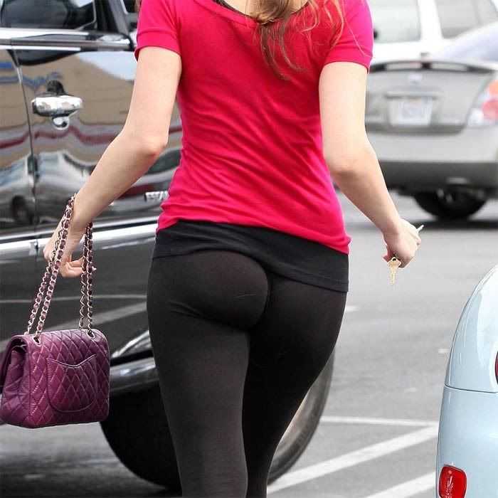Hot ass in leggings
