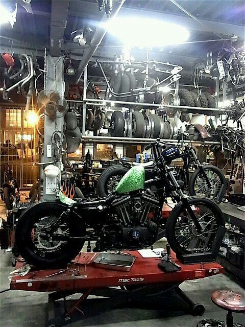 229 best motorcycle ideas images on pinterest custom for Garage custom moto