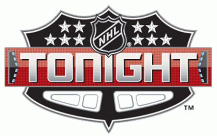 NHL Tonight logo - NHL Tonight is an nightly NHL game highlight and analysis TV show that debuted on the NHL Network on December 29th 2011.