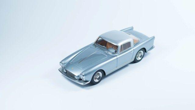 S49 Ferrari 250 GT Coupè Boano 1956 Grigio chiaro e grigio scuro. Limited…