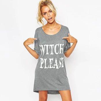 女性ファッション カジュアル緩い かわいい夏の半袖ラウンド ネック レター プリント ドレス レディース tシャツ ショート ミニ ドレス Y0103-39D