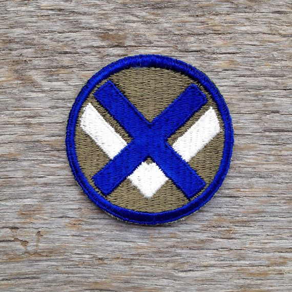Vintage World War II U.S. XV Army Corps Patch by tincanvintage
