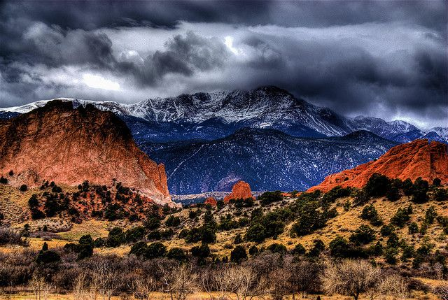 Garden of the Gods, Colorado Springs, CO (double bonus! This could go in my favorite Photos, too!)