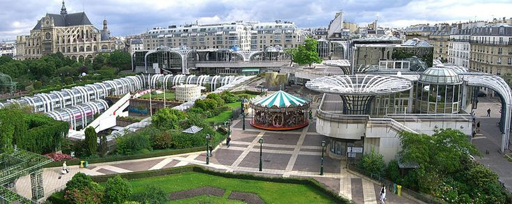 Du trou des Halles au nouveau Forum - Le quartier des Halles en 2007