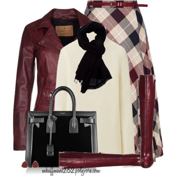 Untitled #1107 by mhuffman1282 on Polyvore featuring Uniqlo, Goosecraft, CC, Mai Piu Senza and Yves Saint Laurent