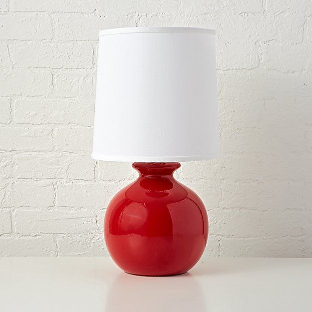 Gumball Red Table Lamp Red Table Lamp Kids Table Lamp Table Lamp