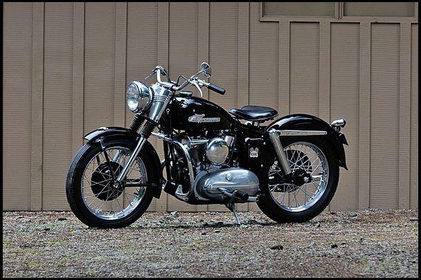 harley davidson khk   1955 Harley Davidson KHK   Mecum ...