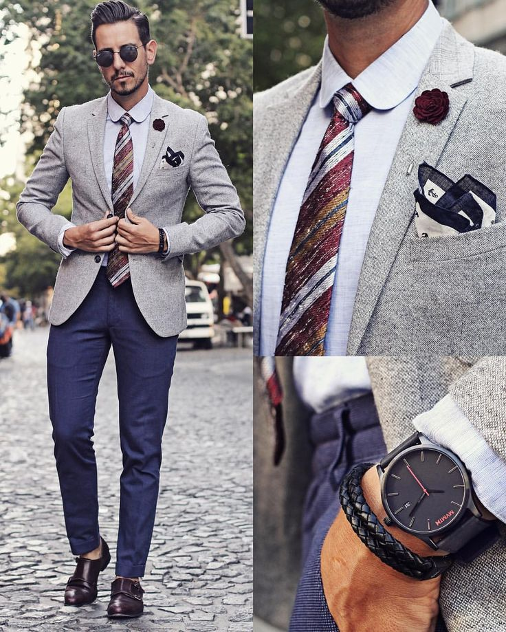 What My Boyfriend Wore - Sometimes one tie just goes with everything!...
