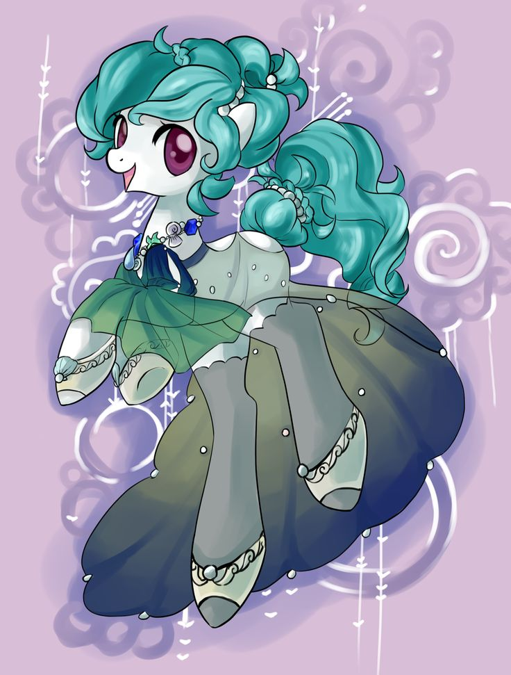 Sweet tunes, loves listening and dancing to music! ( doesn't have a cutie mark so you can make one up!)