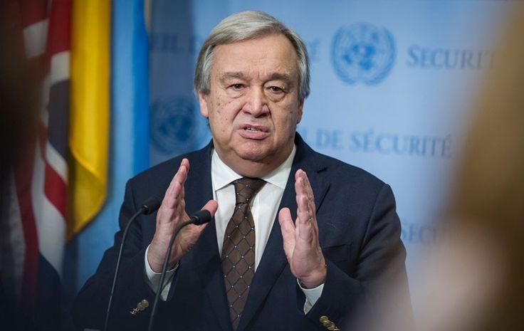 El Secretario General de la ONU, António Guterres, condenó el doble atentado en Londres del pasado sábado 3 de junio, los cuales dejaron un saldo de... #Londres #ONU #AntonioGuterres