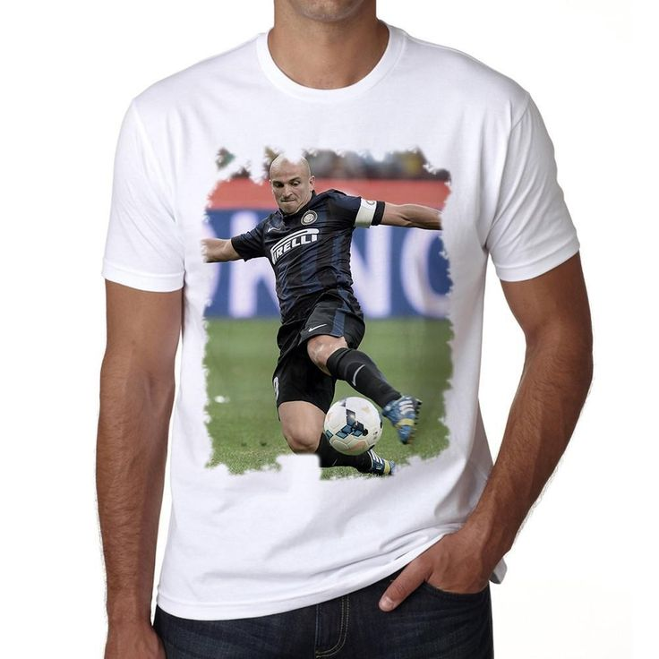 Esteban Cambiasso Men's T-shirt ONE IN THE CITY