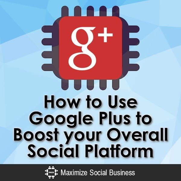 Google Plus can give a big burst of Google love for your blog and social media. Learn how to use Google+ to boost your overall social media presence.