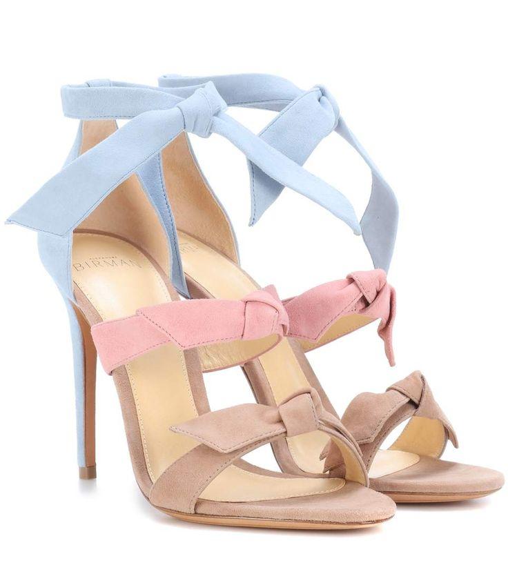 ALEXANDRE BIRMAN LOLITA SUEDE SANDALS. #alexandrebirman #shoes #