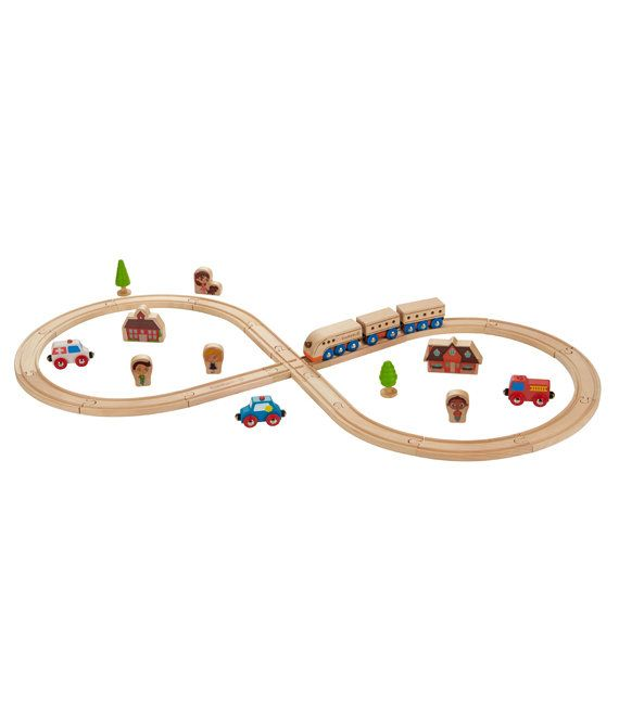 Your children can experience fast-paced adventure and allow free rein creativity at the same time with this figure 8 train set. There are...