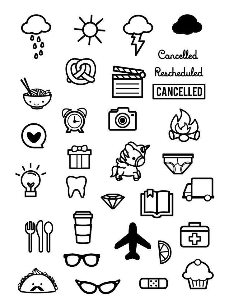 Doodles Tumbler En 2019 How To Draw Hands Bullet Journal