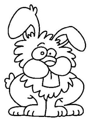 bunny coloring book | Coloring Page for kids