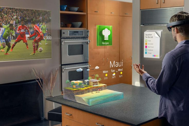 One of the more futuristic concepts of technology is augmented reality.  Contrasting with virtual reality devices like the Oculus Rift, which replaces the natural world with a simulated one, augmented reality is a real-world view of the environment that is enhanced with computer-generated input, graphics, data, and applications.