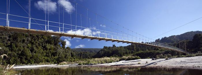 Awesome brige on the Heaphy Track!!!