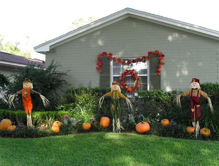 Best Halloween Landscaping Ideas Images On Pinterest - Halloween front yard decoration ideas