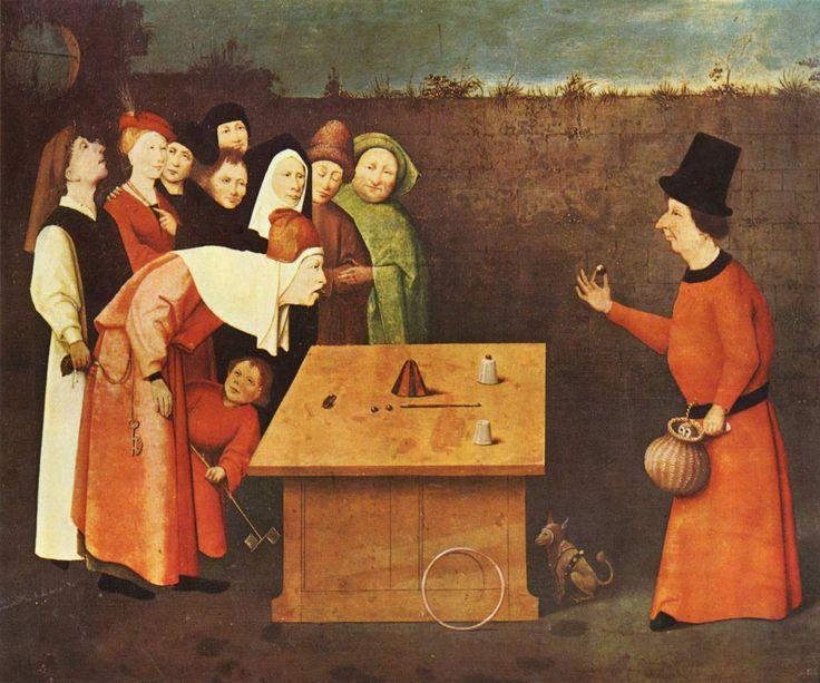 El prestidigitador y el ratero – El Bosco | IDEASNADA (1576 x 1313 )