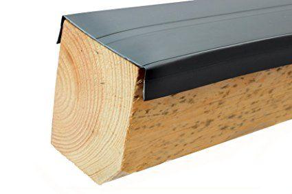 Premium PVC Universale Protezione legno barra per sottostrutture, 60m, trave, protezione WPC, BPC, trave, da 1,50& # x20AC;/lfm, Travi costruttivo, per terrazzo, pavimento, terrazza, per legno, protezione, Made in Germany di Gartenwelt Riegelsberger