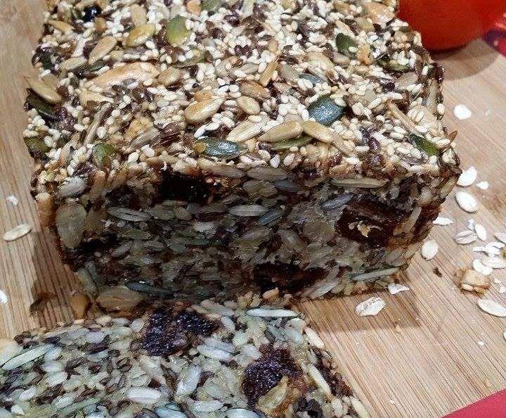 Przepis Chlebek bez mąki i drożdży przez Aganiok - Widok przepisu Chleby & bułki