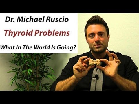 Dr. Michael Ruscio Thyroid Problems In Women And Men What In The World Is Going On?