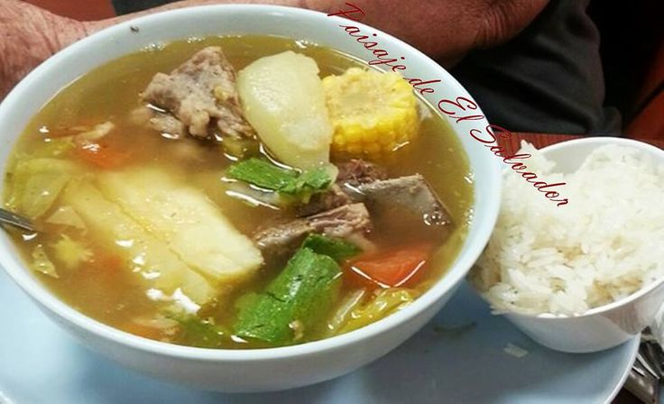 Sopa de Res (beef soup) one of our tipical  foods.