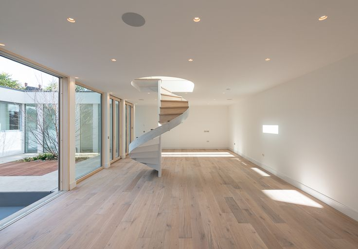 light oak flooring, wide planks, perfect for the bungalow