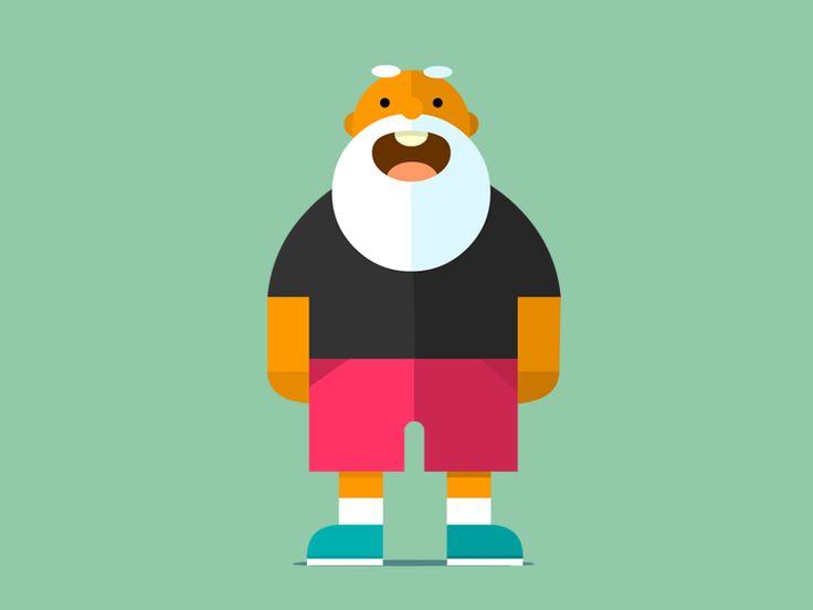 Grandpa by mustafa kural