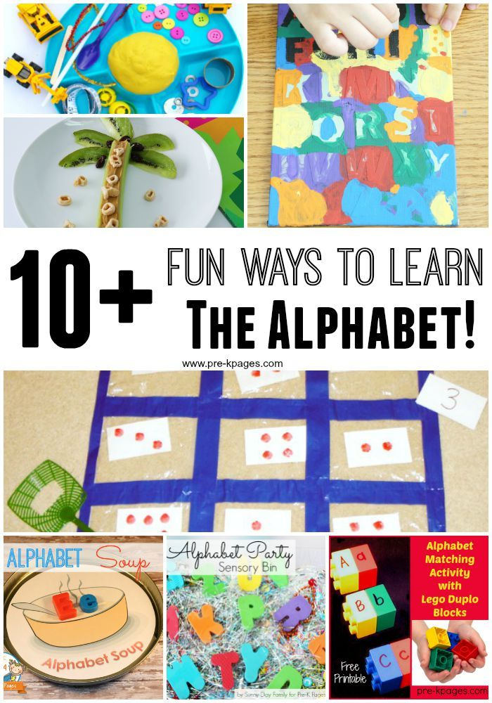 10 Activities for Teaching and Practicing Letters and Sounds