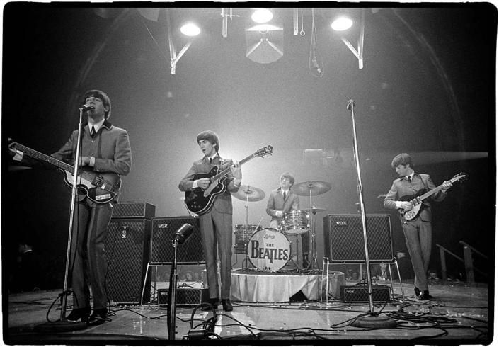 Beatles First Ed Sullivan Show | ... after their historic performance on The Ed Sullivan Show in NYC