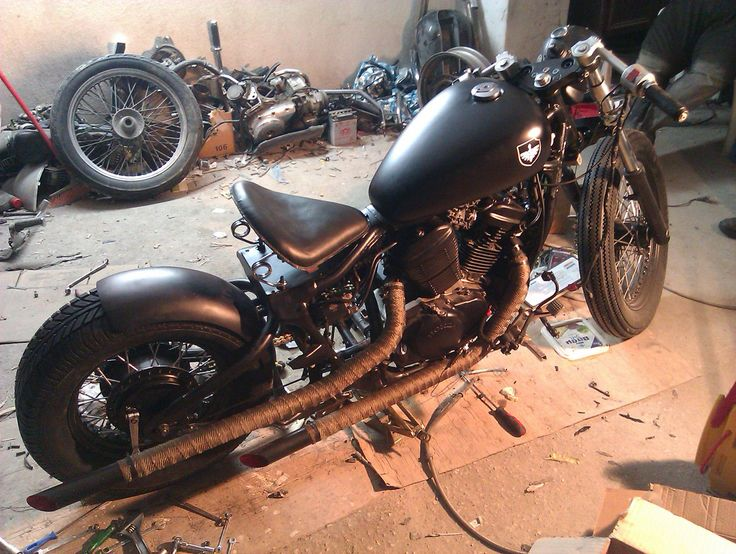 #honda #steed #bobber #custom