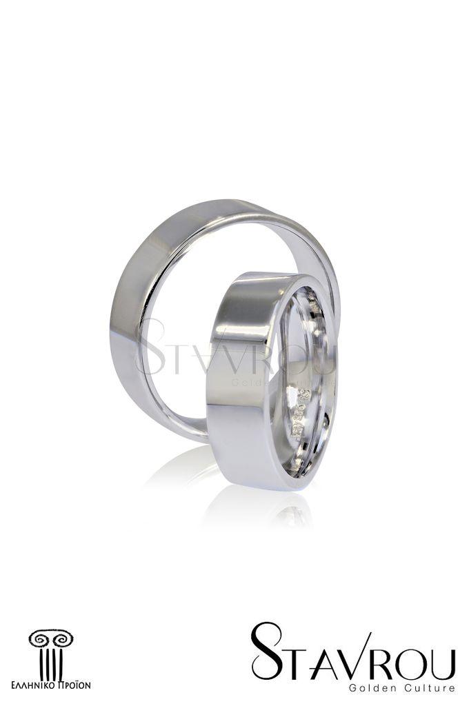 Ασημένιες 925'επιπλατινωμένες βέρες γάμου αρραβώνα στα6.00 mm #βέρες_γάμου #βέρες_αρραβώνων #κοσμήματα_χαλάνδρι