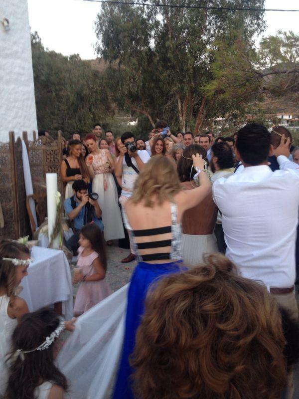 Greek style wedding! Island chapel ceremony